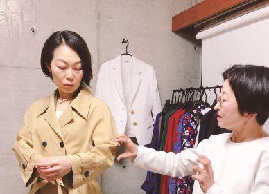 お客様の声:アトリエオープンday:羽織ると自然に笑顔が出てきました