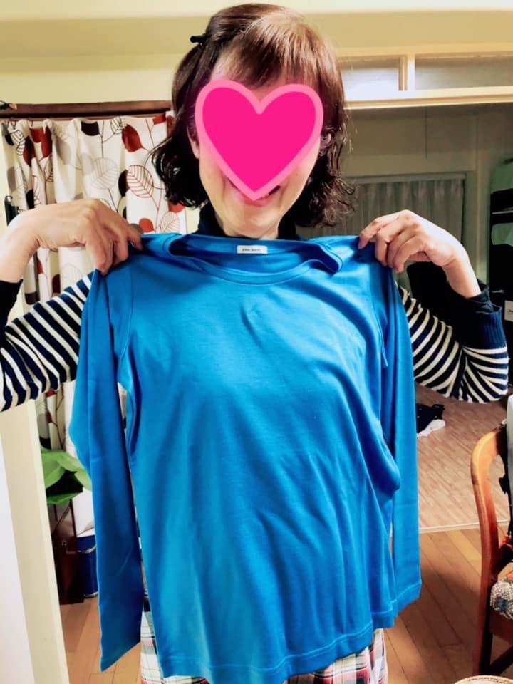 お客様の声:coojeen:プレゼントにもお勧め。首回りもちょうど良く心地良いフィット感のモチベーションTシャツ