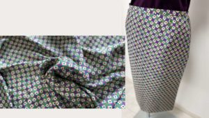 セミーオーダー2 モノトーンのタイトスカート